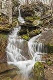 Flusso della primavera di cadute di Bushnellsville Fotografia Stock Libera da Diritti