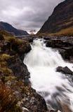 Flusso di autunno Fotografia Stock