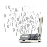 Flusso di dati? Immagine Stock Libera da Diritti