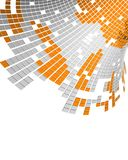 Flusso di dati di Digitahi Fotografia Stock Libera da Diritti