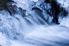 Flusso di inverno Fotografie Stock Libere da Diritti