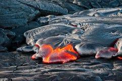 Flusso di lava Immagine Stock Libera da Diritti