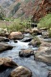 Flusso e montagne immagini stock
