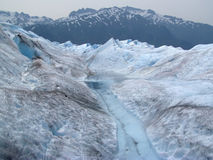 Flusso glaciale #4 Fotografie Stock Libere da Diritti