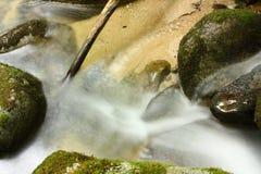 Flusso in Pyrénées Fotografia Stock