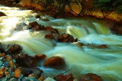 Flusso scorrente Fotografia Stock