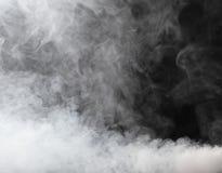 Flusso spesso di nebbia Immagini Stock