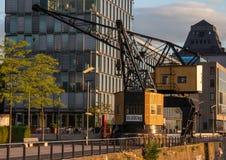 Flusspromenade Cologne Lizenzfreies Stockfoto