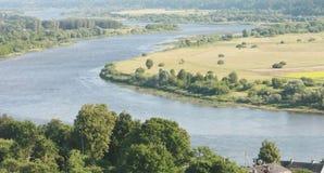 Flussschleifen Lizenzfreies Stockbild