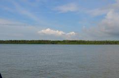 Flussstandort stockfotografie