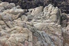 Flusssteine entlang China-Felsen, 17 Meilen-Antrieb, Kalifornien, USA Stockbild