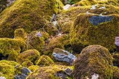 Flusssteine schließen oben, gestapelt lizenzfreies stockbild