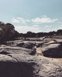 Flusssteine und solche Sachen Stockfotografie