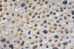 Flusssteinwand Lizenzfreie Stockbilder