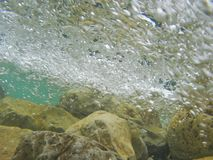 Flussstrom Lizenzfreie Stockfotos