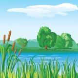 Flussufer Lizenzfreie Stockbilder