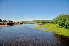 Flussufer Lizenzfreies Stockfoto