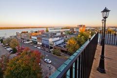 Flussufer Paducah Kentucky Lizenzfreies Stockfoto
