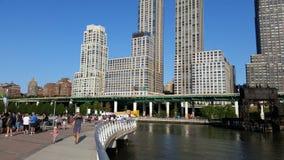 Flussufer-Park-Pier 1 5 Lizenzfreies Stockfoto