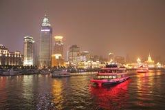 Flussufer in Peking Stockbilder