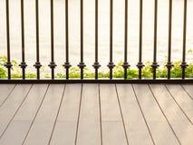 Flussufer-Terrasse Lizenzfreie Stockbilder