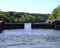 Flussverschluß Stockfotografie
