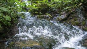 Flusswasser und Felsen Lizenzfreies Stockfoto