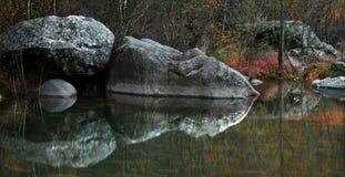 Flusswasserfall Lizenzfreies Stockbild
