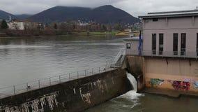 Flusswasserfall cinemagraph stock video