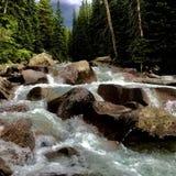 Flusswasserfelsen Lizenzfreies Stockfoto
