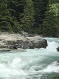 Flusswildwasser Stockfoto