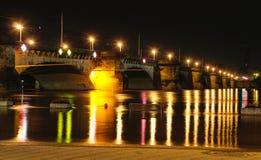 Flut der Elbe Stockfoto