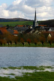 Flut in Deutschland #2 Lizenzfreies Stockbild