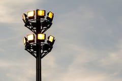 Flut-Licht im Himmel Stockfotografie