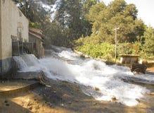 Flutartige Überschwemmung Lizenzfreie Stockfotografie