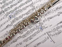 Flute Stock Photography