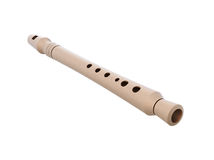 Flute close-up Royalty Free Stock Images