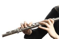 Flute closeup Stock Image