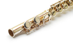 Flute detail Royalty Free Stock Image
