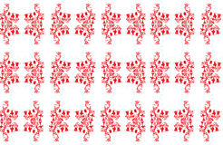 Flute and flower - Pattern Royalty Free Stock Photos