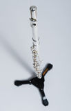 Flute on flute stand Royalty Free Stock Images