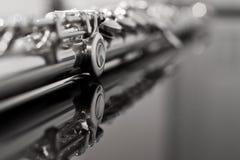 Flute fragment Stock Photo