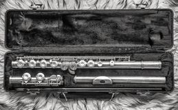 Flute instrument royalty free stock images