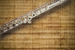 Flute Middle Joint Stock Photos