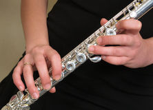 Flute - music Stock Photo