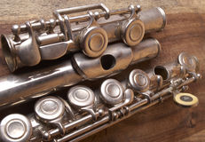 Flute; Musical Instrument Royalty Free Stock Photography