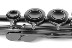 Flute (musical instrument) Stock Image