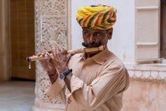 Flute player55 Stock Photos