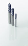 4 flute roughing endmill Royalty Free Stock Photo