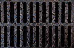 Fluted drain grating Stock Image